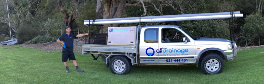 All Drainage Ltd,  Drainlayer Whangarei, certifying drainlayer